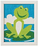 Vervaco - Kit para tapiz, diseño de rana