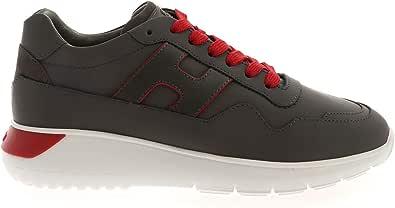 Hogan Sneakers INTERACTIVE3 Grigie E Rosse HXM3710AM24OBR338E Grigio Uomo