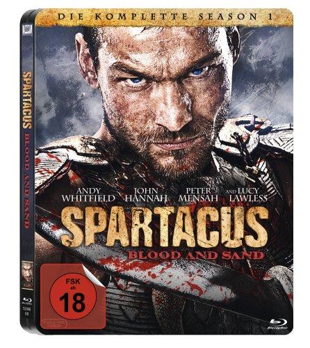 Spartacus: Blood and Sand - Die komplette Season 1 - Seelbook [Blu-ray]