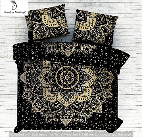 Baumwolle Queen-size Bettbezug (Bettbezug Mandala Doona Cover indische Baumwolle Bettbezug Urban Duvet Decke decken Throw Queen Size Tagesdecke)