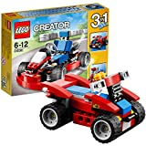 LEGO Creator - 31030 - Jeu De Construction - Le Kart - Rouge