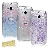 HTC One M8 Hülle Mavis's Diary 3x Case PC Plastik Hardcase Back Cover Tasche Schutzhülle Anti-Scratch Telefon-Kasten Handyhülle Handycover Bumper Fall Euit