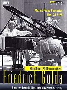 Mozart: Piano Concertos [Sergiu Celibidache, Norbert Buse] [Arthaus: 101673] [DVD] [NTSC] [2013]