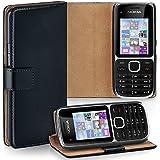 OneFlow Tasche für Nokia Lumia 920 Hülle Cover mit Magnet | Flip Case Etui Handyhülle zum Aufklappen | Handytasche Handy Schutz Bumper Schutzhülle mit Schale in Schwarz