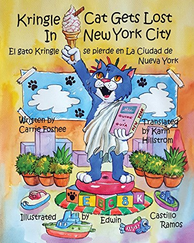 Kringle Cat Gets Lost In New York City: Volume 3