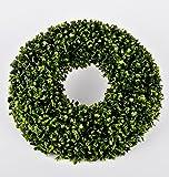 Buxus Deko Kranz 20x20cm grün Kunstpflanze