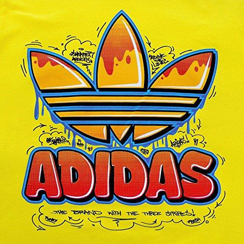 adidas Originals Trefoil Old School T-Shirt Gelb