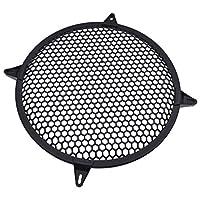 Hongma 12Inch Speaker Grill Cover Protector Car Audio Speaker Car Stereo Metal Mesh Speaker Subwoofer Grill Cover Protector