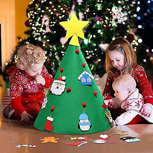 TO_GOO- Árbol de Navidad Hecho a Mano para niños, Juguetes Infantiles