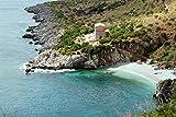 Zopix Poster Sizilien Landschaft Meer Wandbild - Premium