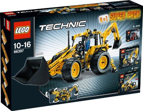 Preisvergleich Produktbild LEGO Technic 66397 - 4in1 Super Pack 8069+8067+8065+8047