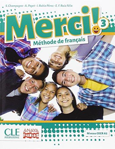 Merci! méthode de français 3 + cahier d'activités