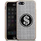 Apple iPhone 5s Hülle Silikon Case Schutz Cover Dollar Glitzer Diamanten