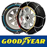 GODKN090 - Catena da Neve E9, 9mm. Good Year, taglia 90. Per le misure de pneumatico: 195/80R14,...