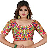 Women's Silk Unstitched Blouse Piece (Be...