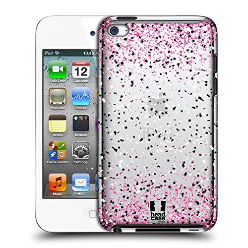 Head Case Designs Rosa Konfetti Ruckseite Hülle für Apple iPod Touch 4G 4th Gen -