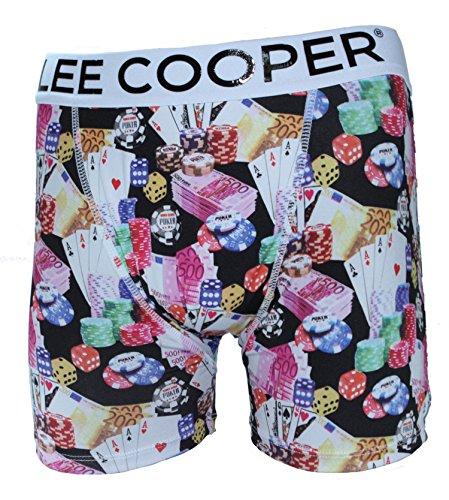 Lee Cooper-boxer da uomo VEGAS Multicolore