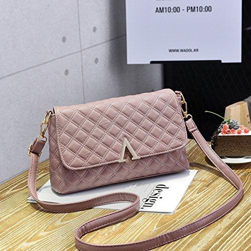 Femmina CengBao nuovi pack di trasporto atmosferico selvatici coreano moderno piccolo pacchetto pelle morbida tote bag spalla un cross-pacchetto, polvere di gomma La polvere di gomma