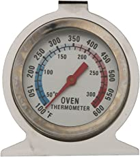 Generic Stainless Steel Oven Thermometer, Silver