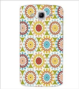 SAMSUNG GALAXY MEAGA 5.8 RANGOLI PATTERN Designer Back Cover Case By PRINTSWAG