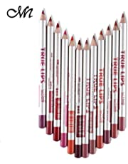 Me Now True Lips Lip Liner Pencil, Set of 12