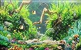 Fototapete Vlies Tapete 3D wallpaper Wanddeko Design Moderne Anpassbare Wandbilder frischen meer korallenriff sea fish 3d - tv hintergrund mauer