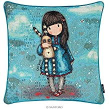 Santoro Gorjuss Cojin con relleno Reversible Little Rabbit 45 x 45 cm
