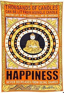 Cotton Hippy indian Mandala Wall Hanging Bohemian Throw Decor Badspread Tapestries