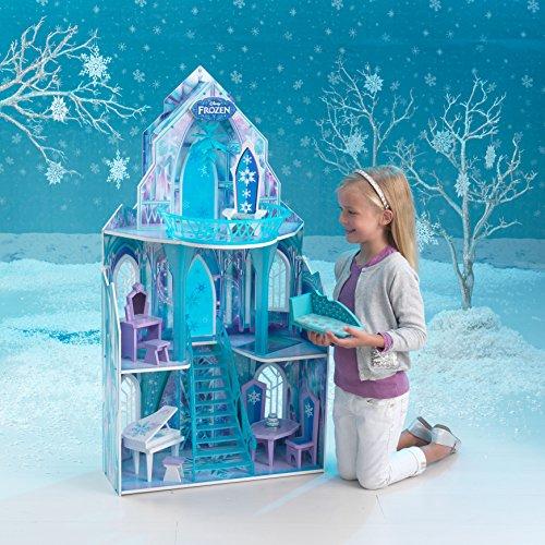KidKraft 65881 Puppenhaus Disney Frozen Ice Castle, bunt - 7