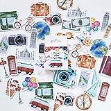 Album Scrapbook Ensemble d'outils de bricolage autocollant Collection Plan autocollant Scrapbooking Ensemble d'outils de bricolage autocollant pour album photo / Bloc-notes / Journal / Artisanat