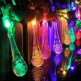 CALISTODE Batteriebetriebene Solarschnur -Lichter, Lichter Kristall-Fee Wasserdichte Weihnachtsfest beleuchtet Sternen Licht-Dekoration f¨¹r Haus, Garten, Hochzeit, Tanzen