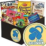 Zur Geburt Junge - Geschenkbox Zur Geburt Junge - Geschenkset DDR Schoko