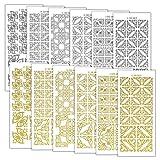 Peel Off Stickers Abziehen Aufkleber kleinen Ecken 1021, Aufkleber, mehrfarbig, 23x 10x 1cm