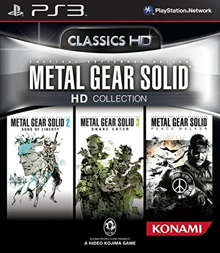 Metal Gear Solid - HD Collection [Classics HD] [PEGI] - PS3