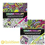 120 Page Adult Colouring Book Anti Stress Art Therapy Positive Zen Soothing Calm by PMS??
