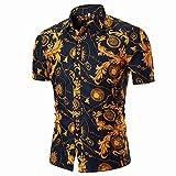 BURFLY Print T-Shirt Herren 2018 Neueste Männer Sommer Casual African Print O Hals Pullover Kurzarm T-Shirt Top Bluse Fashion Streetwear