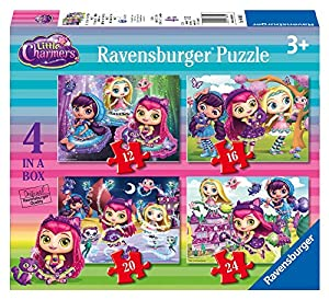Ravensburger Italia 06886 9 - Puzzle Little Charmers, 4 in A Box , Modelos/colores Surtidos, 1 Unidad