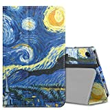 """MoKo Case for All-New Amazon Fire 7 2017 (7"""" Tablet, 7th Generation - 2017 Release Only) - Slim Folding Stand Cover Case for Fire 7 inch Tablet with Alexa, Starry Night (with Auto Wake/Sleep)"""
