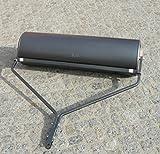 Gartenwalze 102cm Rasenwalze Rasenlüfter Rasentraktor schwarz