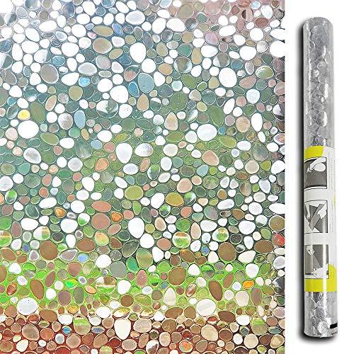 Lemon Cloud 3d no adhesivo ventana película estática