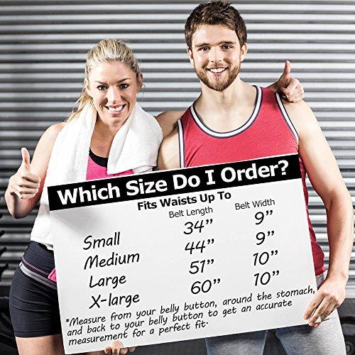 Just Fitter Prämie Taillen-Trimmer Gürtel für Männer und Frauen. Wesentlich einstellbarer als andere Taillen Schlankheitsgürtel - Bietet beste Unterstützung für den unteren Rücken und Lendenwirbel. garantierte Ergebnisse.