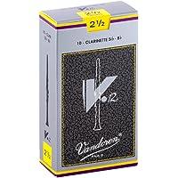 Vandoren V12 Bb Clarinet Reeds - Box of 10 - Strength 2.5