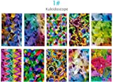 BTArtbox 10 Packs Self-adhesive Holographic Nail Sticker Abstract Design Laser Nail Decal Set 1#