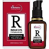 StBotanica Retinol 2.5% + Hyaluronic Acid Face Serum - Anti Aging/Wrinkle Face Serum, 20 ml