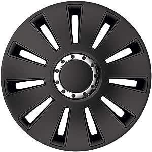 Petex Radblende Radkappe Silverstone Pro Black 17 Zoll Satz 4stk Auto
