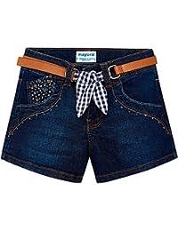 Mayoral 3210-82-8, Pantalones Cortos para Niñas, (Oscuro 82), 8 años (Tamaño del Fabricante:8)