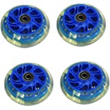 tires electric scooter drift blue 4 piece