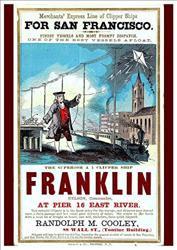 merchants-express-line-for-san-fransisco-the-superior-clipper-ship-franklin-a4-glossy-art-print-take
