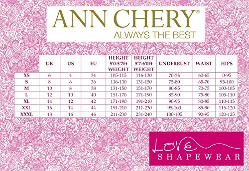 5c331056ba Ann Cherry Women s Latex Waist Trainer Cincher Faja Girdle Full Vest Body  Shaper