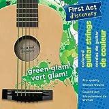 First Act Discovery - FX812 - Bunte Gitarrensaiten grün